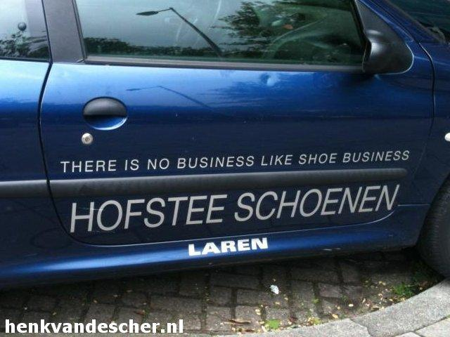 Hofstee Schoenen :: There is no business like shoe business