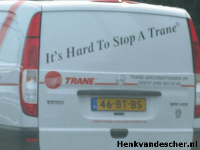 Trane :: It's hard to stop a Trane