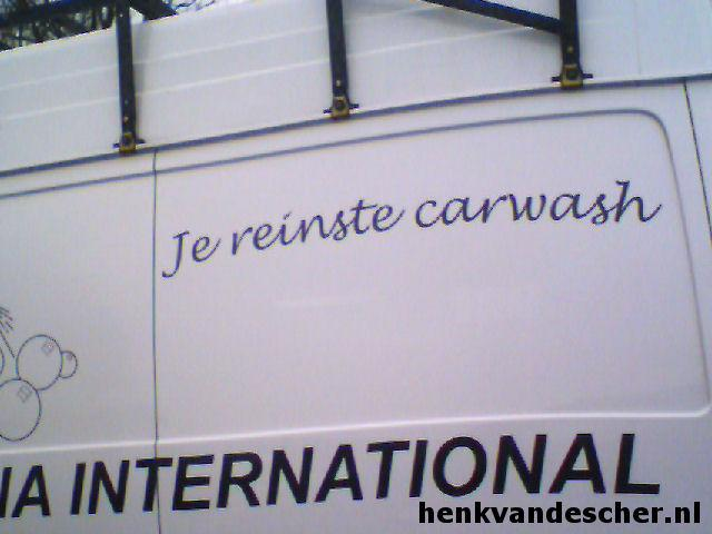 Savona International :: Je reinste carwash